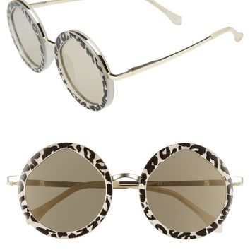 Le Specs Hey Yeh 50mm Round Sunglasses | Nordstrom
