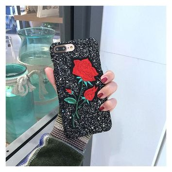 ICIKJ6E Iphone 6/6s Cute Stylish Innovative Embroidery Korean Phone Case [11686938895]