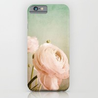 RANUNCULUS iPhone & iPod Case by ALLY COXON
