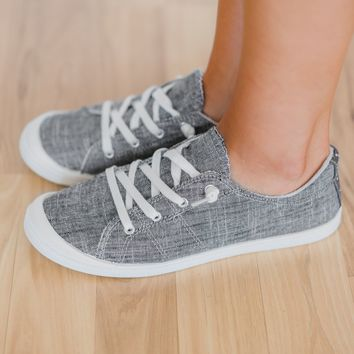 Not Rated Rae Sneakers- Charcoal