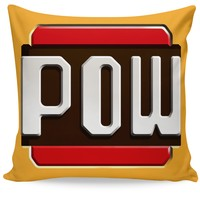 Mario Pow Couch Pillow