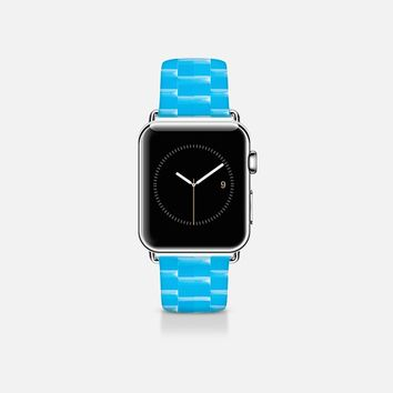 Ceramic style turquoise Apple Watch Band (38mm) by WAMDESIGN | Casetify