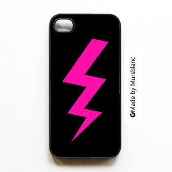 iphone 4 case Lightning bolt Thunder bolt Weather by HipsterCases