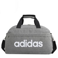 Adidas black Luggage Satchel  Travel Bag Tote Handbag H-A-MPSJBSC