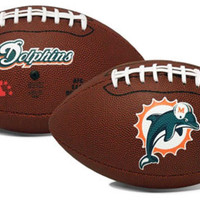 Miami Dolphins Game Time Full Size Football