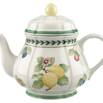 French Garden Fleurence Teapot, Tea & Coffee Pots