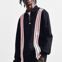 Lazy Oaf Stripe Through Rugby Shirt | Urban Outfitters