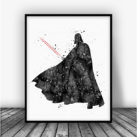 Star Wars Darth Vader Art Print Poster