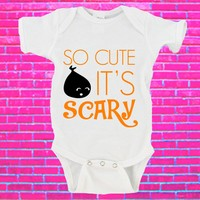So Cute It's Scary First Halloween Gerber Onesuit ®