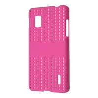 Amzer AMZ95088 Simple Click On Hard Case Cover for LG Optimus G LS970 - 1 Pack - Retail Packaging - Magenta
