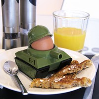 NOKI Egg-Splode Egg Cup and Toast Cutter
