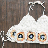 festival crochet crop top