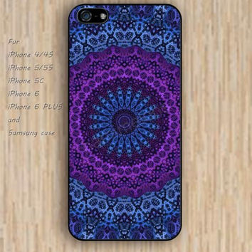 iPhone 6 case glitter mandala iphone case,ipod case,samsung galaxy case available plastic rubber case waterproof B058