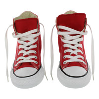 Converse Women's CHUCK TAYLOR CORE HI red canvas sneakers M9621