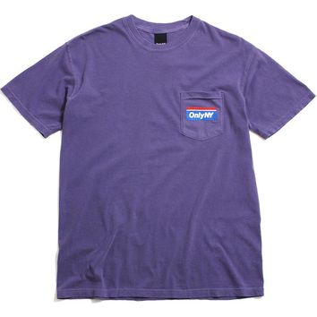 Subway Pocket T-Shirt Grape