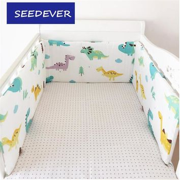 Infant Baby Bed Bumpers 1pc 200*30cm Crib Bed around Kids child Cotton Cot Nursery Bedding Cartoon Bumper Boys Girls