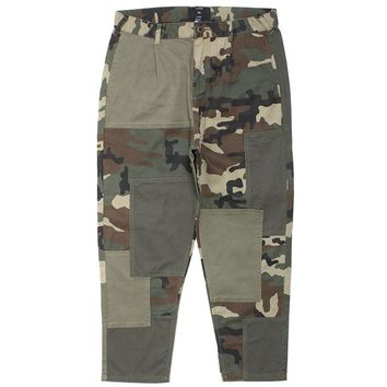 Many Wars Camo Pants Woodland Camo