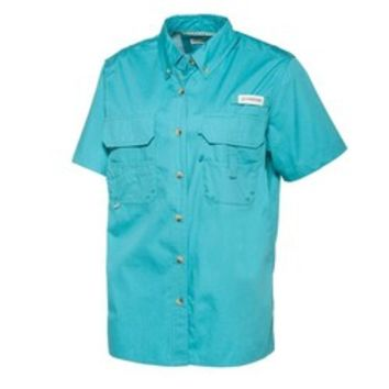 Academy - Magellan Outdoors™ Women's Lake Fork Short Sleeve Fishing Shirt
