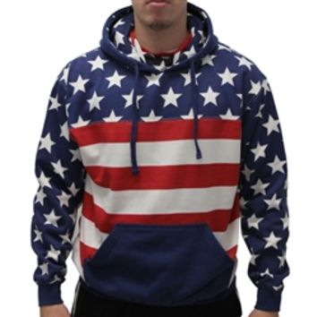 Mens American Flag Hoodie Sweater | TheFlagShirt.com