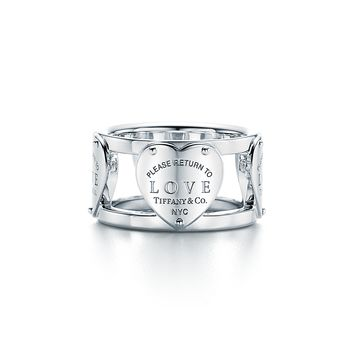 Tiffany & Co. - Return to Tiffany®:Love Wide Ring