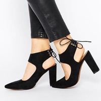 Truffle Collection Mona Tie Heeled Shoes