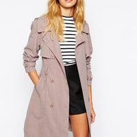 Fashion Union Relaxed Trench Coat