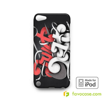 JUST DO IT Nike Every Damn Day  iPod Touch 4, 5 Case Cover