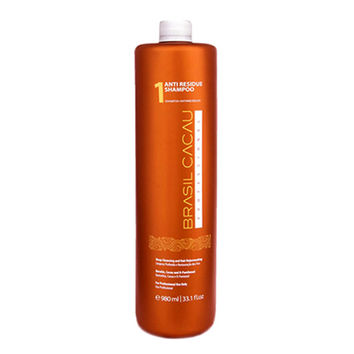 CADIVEU BRASIL CACAU ANTI RESIDUE SHAMPOO PRE TREATMENT 500ml (17fl.oz) FRACTION.