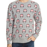 Barney Coolsx Nintendo Toad Crewneck Sweatshirt - 100% Exclusive