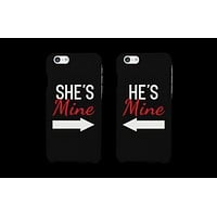 She's Mine & He's Mine Matching Couple Phone Cases (Set)