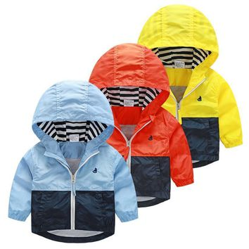 Blue, Red Orange, Yellow Stripes Collection Kid Child Baby Toddler New Born Infant Winter Snow Coat