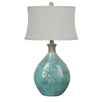 Crestview Collection Linnet 1 Light Table Lamp