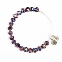 Alex and Ani Violet Sunburst Bangle