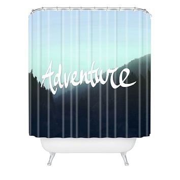 Leah Flores Adventure 2 Shower Curtain