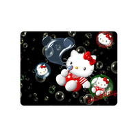 Very Nice Mouse Pad Hello Kitty Bubbles