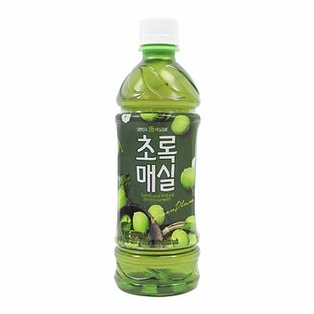 Woongjin Green Plum Drink 16.9 oz. (500ml)