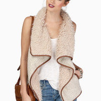 Keep It Cozy Shearling Vest