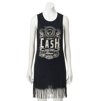 Rock & Republic Johnny Cash Fringe Dress - Women's, Size: