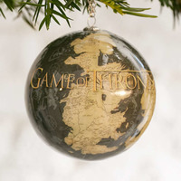 Game Of Thrones Westeros Ornament - Urban Outfitters