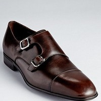 Salvatore Ferragamo Addo Double Monkstrap Dress Shoes | Bloomingdale's