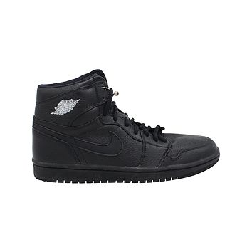 Air Jordan 1 Men's Retro High OG Japan Exclusive (2001 ADDITION) Black Metallic Silver
