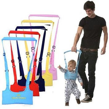 US Cute Baby Toddler Walk Toddler Safety Harness Assistant Walk Learning Walking Harnesses Leashes