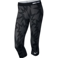 Nike Women's Pro Printed Capris - Dick's Sporting Goods