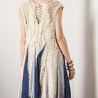 Back In Time Bohemian Crochet Vest