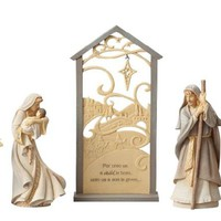 Foundations Nativity Scene 5-Piece Set-6001146
