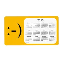 Happy New Year 2015 Calendar by Janz Label