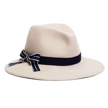 Bow Tie Safari Fedora - Brooks Brothers