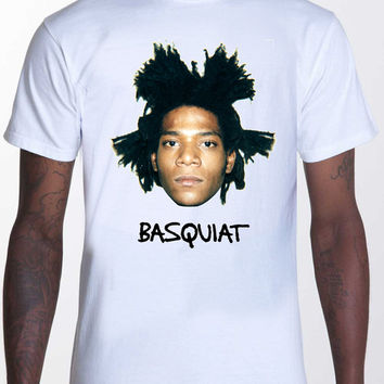 Jean Michel Basquiat Photo T Shirt TShirt Unisex Men's Shirt