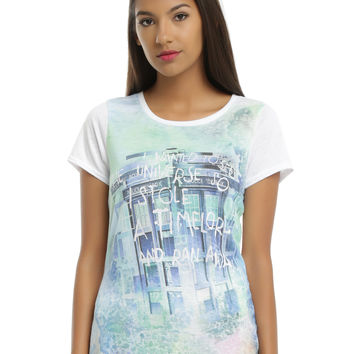 Doctor Who Stole A Time Lord Girls Tee