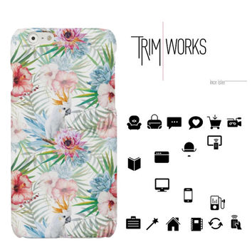 Tropical iPhone 6 case iPhone 6 Plus Case iPhone 5 Case summer Samsung Galaxy S4 Case Samsung Galaxy S5 Case Samsung Galaxy S6 Case